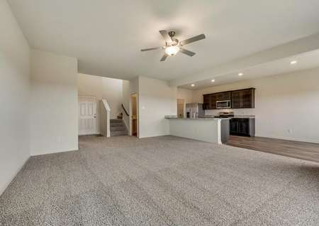 This home has a popular, open layout.