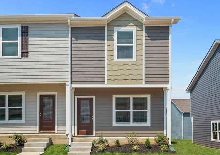 The beautiful Birch plan is a townhome with siding in La Vergne, Tennessee.