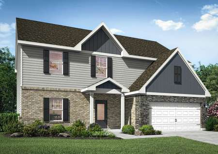Rendering of the Jackson at Stone Crest Estate.
