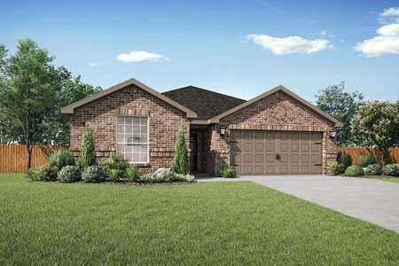 LGI Homes Sabine Model Home Front View