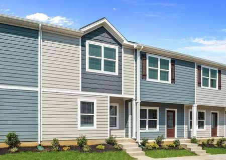 The Pine plan is a spacious townhome in La Vergne, Tennessee.