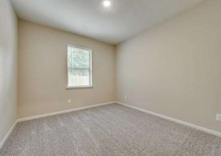 Ontario bedroom with window, carpeted flooring and ceiling light