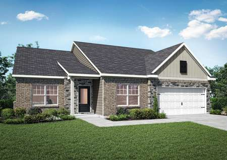 Rendering of the Dockery at Stone Crest Estate.
