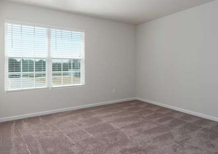 Avery home plan picture of room with carpet and large window