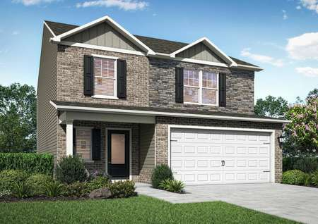 Rendering of the Camden at Stone Crest Estate.