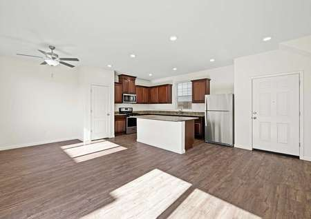 The Whitney at The Arbors has a spacious, open layout.