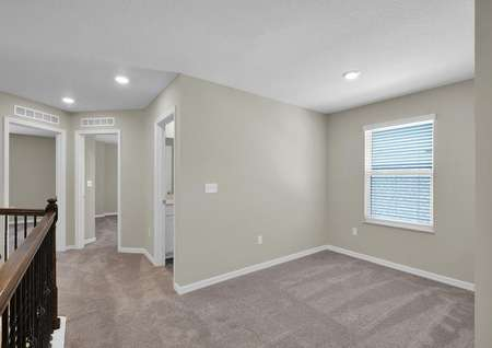 The upstairs game room can be transformed into a home office or anything you wish!